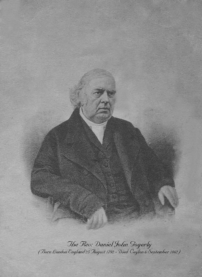 Rev D.J. Gogerly