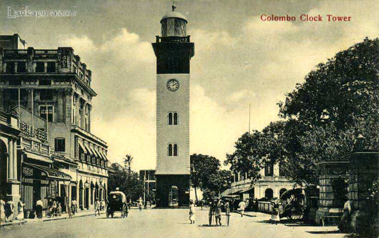 1910s-lighthouse-clock-tower-colombo