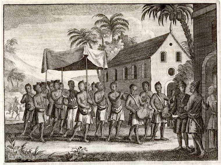Religion-Ceylon-Sri Lanka Valentyn-1726