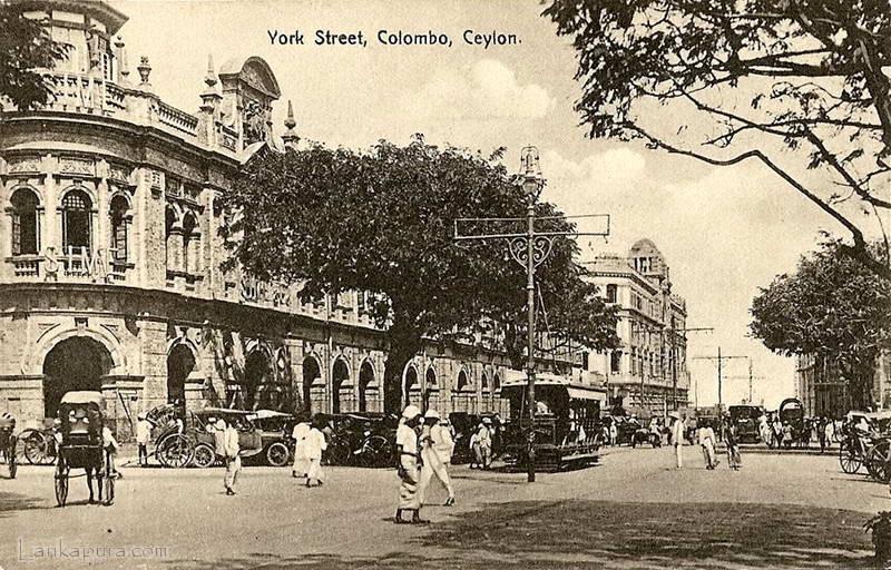 york-st-colombo-ceylon-1920s
